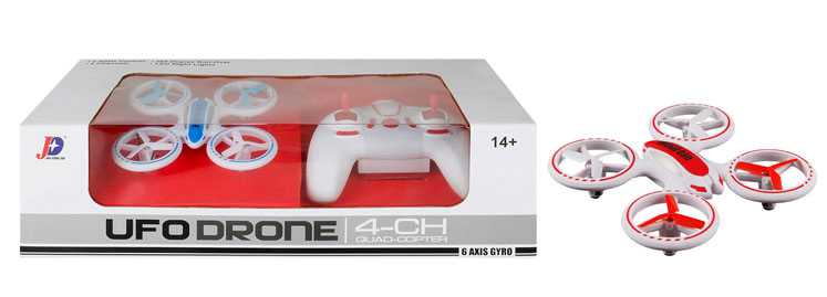 JXD JD 398 Mini UFO Quadcopter with Fantastic LED Light to Fly at Night