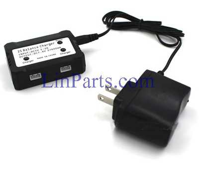 JXD 518 RC Quadcopter Spare Parts: 7.4V 2S lithium battery charger[1 charge 2]