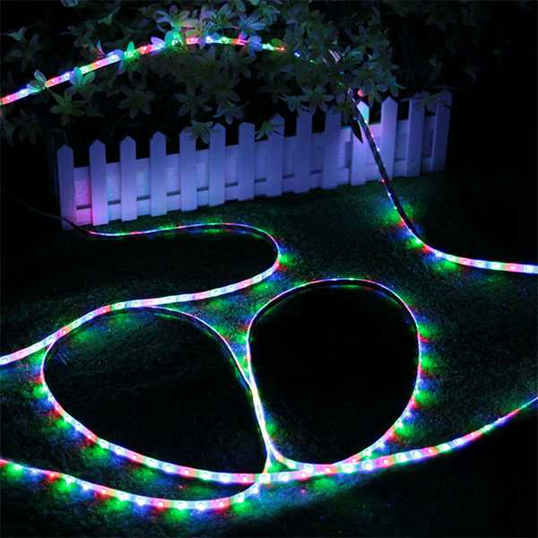 Waterproof SMD LED colorful lights [5m][Remote control]