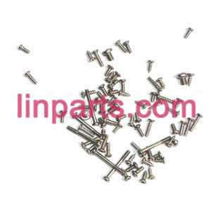 LISHITOYS RC Helicopter L6023 Spare Parts: Screws pack set