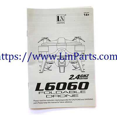 Lishitoys L6060 RC Quadcopter Spare Parts: English manual [Dropdown] - Click Image to Close