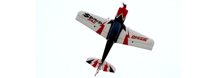 Dynam Sbach 342 RC Airplane