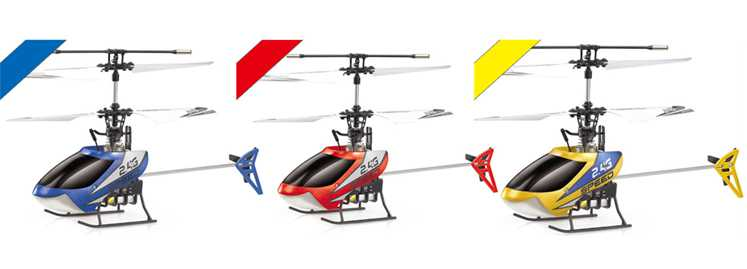 501A 501B 501C RC Helicopter