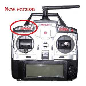 MJX F39 Spare Parts: Remote Control/Transmitter(new)