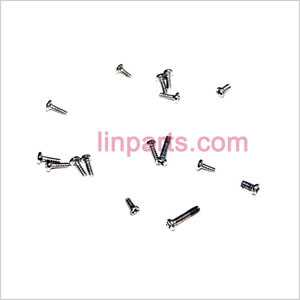 MJX F647 F47 Spare Parts: Screws pack set