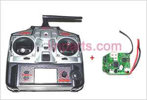 MJX F648 F48 Spare Parts: Remote Control\Transmitter+PCB\Controller Equipement