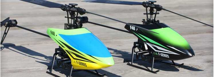 MJX F48 F648 RC Helicopter