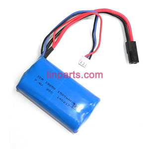 MJX F49 F649 helicopter Spare Parts: Body battery(7.4 1500amh)