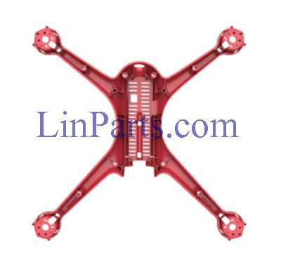 MJX Bugs 2 WIFI Brushless Drone Spare Parts: Lower board [Red]