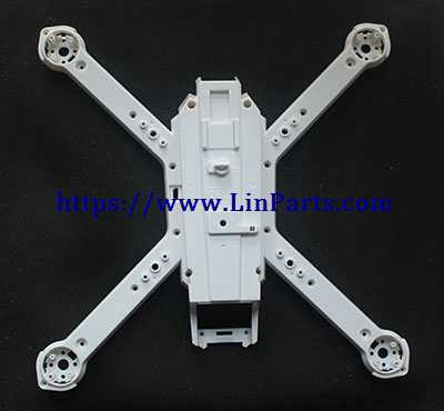 MJX BUGS 3 Pro Brushless Drone Spare Parts: Main Frame [B3PRO02](White)