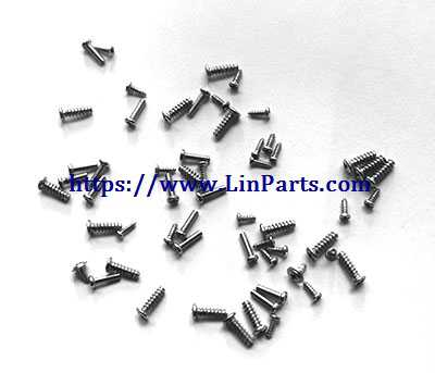 MJX BUGS 3 Pro Brushless Drone Spare Parts: Screws pack (All the screws in the fuselage)[B3PRO13]