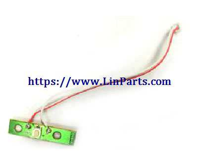 MJX Bugs 4W Brushless Drone Spare Parts: Switch board