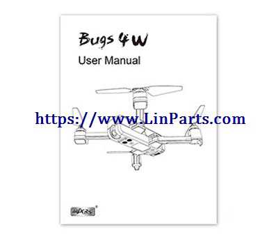 MJX Bugs 4W Brushless Drone Spare Parts: Instruction manual