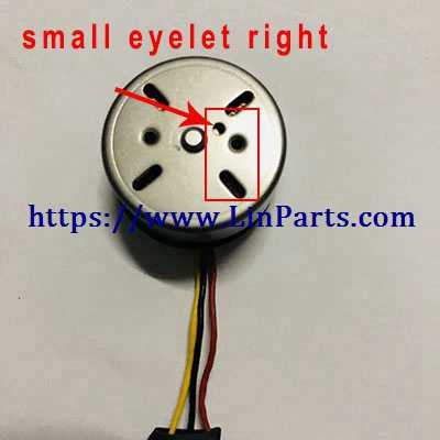MJX BUGS 5 W 4K Brushless Drone Spare Parts: Motor[small eyelet right]