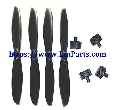 MJX BUGS 5 W 4K Brushless Drone Spare Parts: Blades set + Blades cap set