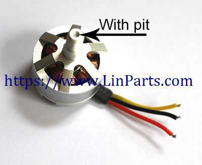 MJX BUGS 5 W Brushless Drone Spare Parts: Forward Motor [with Pits]