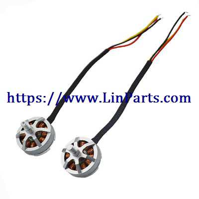 MJX BUGS 8 Pro Brushless Drone Spare Parts: Clockwise motor + Counter clockwise motor