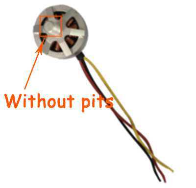 MJX BUGS 2 SE Brushless Drone Spare Parts: Reverse motor