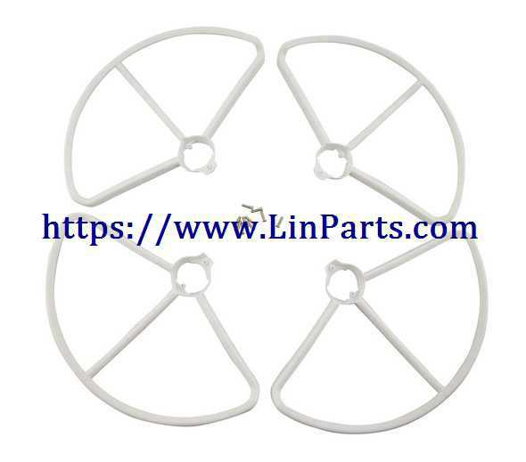MJX BUGS 2 SE Brushless Drone Spare Parts: Outer frame[White]