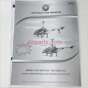 MJX T10/T11 Spare Parts: Manual book