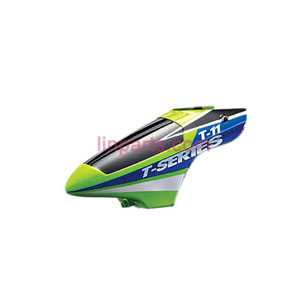 MJX T11 Spare Parts: Head cover\Canopy(Green)