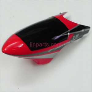 MJX T11 Spare Parts: Head cover\Canopy(red)