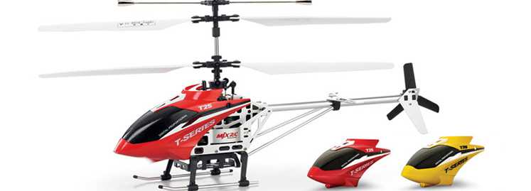 MJX T25 T625 RC Helicopter