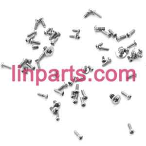 MJX RC Helicopter T41 T41C Spare Parts: Screws pack set