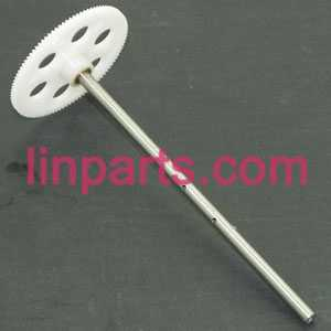 MJX RC Helicopter T41 T41C Spare Parts: upper main gear + hollow pipe