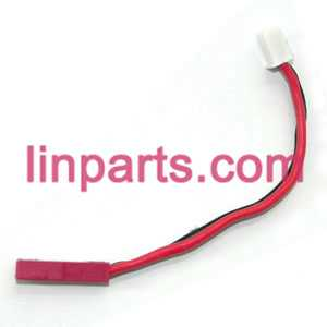 MJX RC Helicopter T41 T41C Spare Parts: power plug