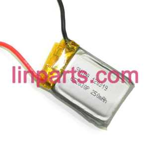 MJX RC Helicopter T42 T42C Spare Parts: battery(3.7V 250mAh)
