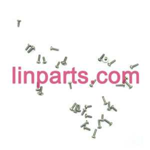 MJX RC Helicopter T42 T42C Spare Parts: Screws pack set