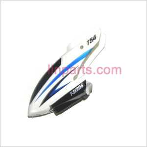 MJX T54 Spare Parts: Head cover\Canopy(blue)