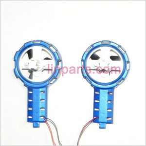 MJX T54 Spare Parts: Left and right Decorative set(blue)