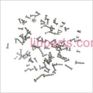 MJX T55 Spare Parts: Screws pack set