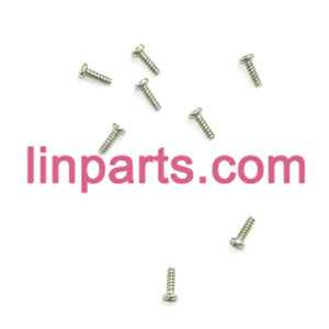 MJX RC QuadCopter Helicopter X100 Spare Parts:Screws pack set