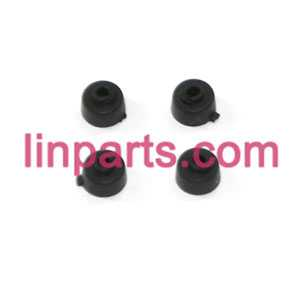 MJX RC QuadCopter Helicopter X100 Spare Parts:rubber fixed set