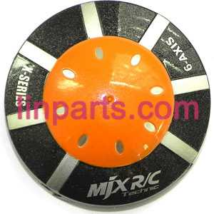 MJX RC QuadCopter Helicopter X100 Spare Parts:upper cover(Orange)