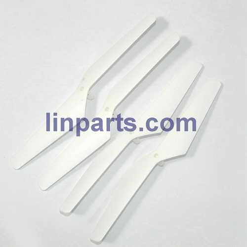 MJX X101C 2.4G 6 Axis Gyro 3D RC Quadcopter Spare Parts: Blades set(white)