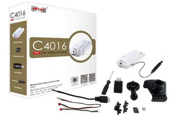 C4016 FPV 720P Real time aerial camera set