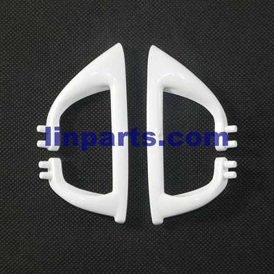 MJX X400-V2 RC QuadCopter Spare Parts: Support plastic ba(white)