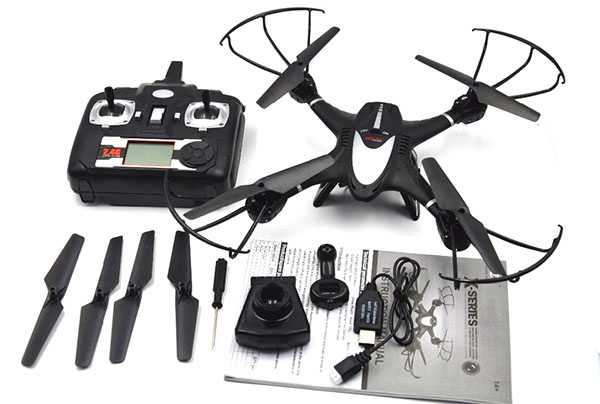 MJX X401H Remote Control Quadcopter Professional RC Drone With Camera