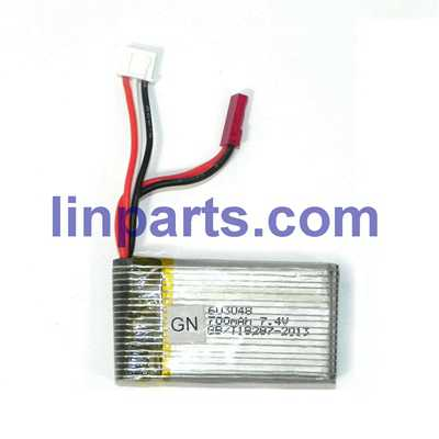 MJX X601H X-XERIES RC Hexacopter Spare Parts: Battery 7.4V 700mA