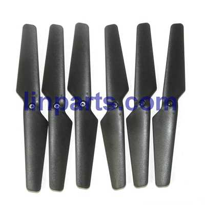 MJX X601H X-XERIES RC Hexacopter Spare Parts: Main blades set[Black]