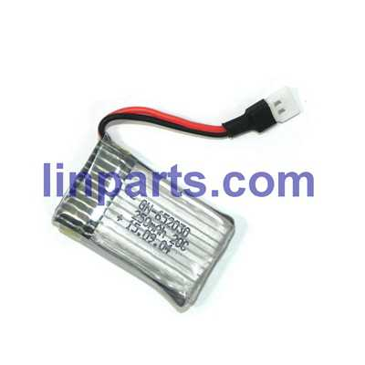 3.7v 250mA Battery (Air-to-air plug)