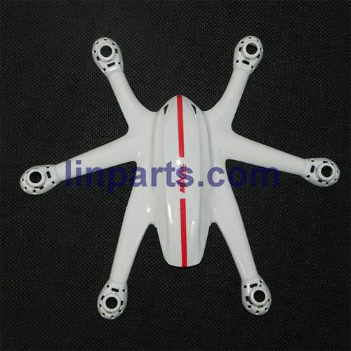 MJX X800 2.4G Remote Control Hexacopter 6 Axis Gyro 3D Roll Stumbling UFO Spare Parts: Upper Head cover[White]