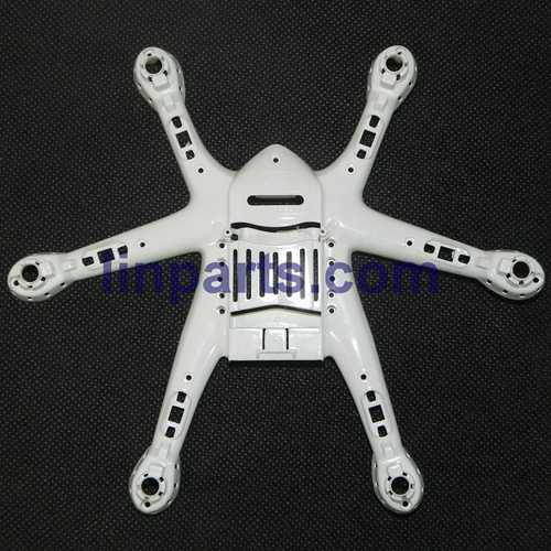 MJX X800 2.4G Remote Control Hexacopter 6 Axis Gyro 3D Roll Stumbling UFO Spare Parts: Lower board[White]