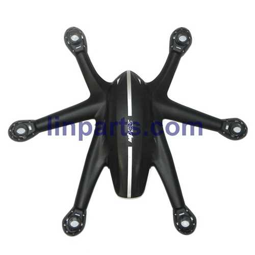 MJX X800 2.4G Remote Control Hexacopter 6 Axis Gyro 3D Roll Stumbling UFO Spare Parts: Upper Head cover[Black]