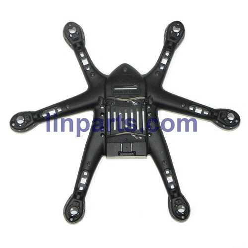 MJX X800 2.4G Remote Control Hexacopter 6 Axis Gyro 3D Roll Stumbling UFO Spare Parts: Lower board[Black]