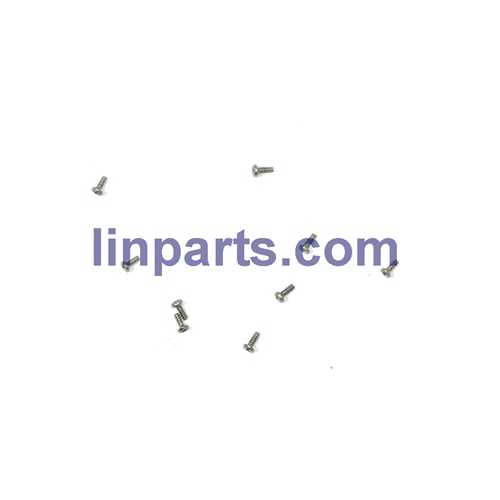 MJX X900 X901 3D Roll 2.4G 6-Axis First Nano Hexacopter Spare Parts: screws pack set